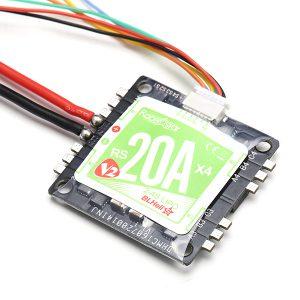 RacerStar 4in1 20A v2 ESC mit 5v BEC DroneFactory.ch
