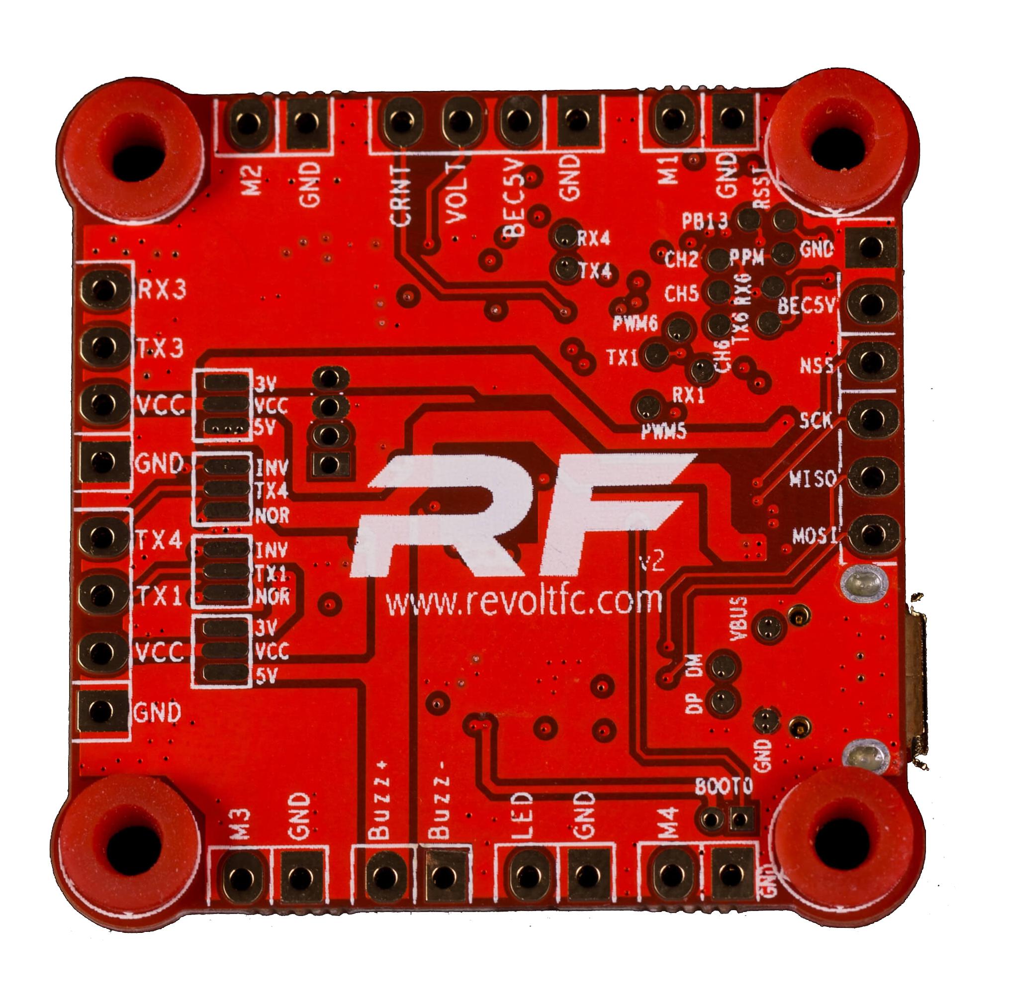 Flightone Revolt V3 F4 Flight Controller Dronefactory Ch